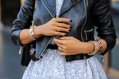 VIVALUXURY - FASHION BLOG BY ANNABELLE FLEUR: BLACK, WHITE & RED