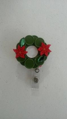 Check out this item in my Etsy shop https://www.etsy.com/listing/240808329/handmade-christmas-wreath-retractable-id