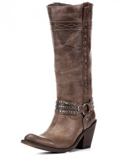1ae37eb474a Handcrafted quality meets high fashion in Independent Boot Company s Alyssa  Harness Boot. An underslung heel and studded harness give off an  irresistible ...