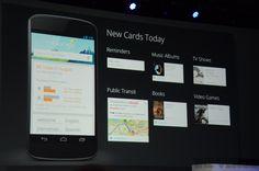 השרות הפופולרי של בעלי האנדרואיד ה-Google Now מקבל אף הוא עדכון היום עם כרטיסיות חדשות כגון: אפשרות קבלת תזכורות קוליות, שליחת מיילים ישירות מ-Google Now וקבלת עדכונים של התחבורה הציבורית הקרובה אליכם. כמו כן, Google Now יציע עבורכם תוצאות חיפוש כעת גם מחנות ה-Google Play ויציב עבור המשתמש ...