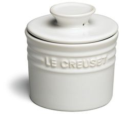 LE CREUSET Stoneware Butter Crock Butter White $29.95 BEST PRICE GUARANTEE FREE WORLD SHIPPING (LOCAL ORDER PICK UP IS ALSO AVAILABLE & GET 20% OFF)