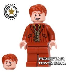 LEGO Harry Potter Minifigures - Fred and George Weasley