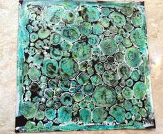 GELLI PLATES WITH WATERCOLOR AND STENCILS GREAT BLOG.  Unfortuantely, no tutorial on how to get these great effects.