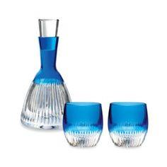 Waterford® Mixology Argon Blue Barware Collection - BedBathandBeyond.com