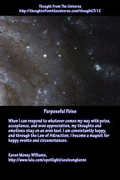 Purposeful Poise - Karen Money Williams