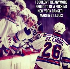 This is my favorite player ever. I love him. He's the reason I became a Rangers' Fan!