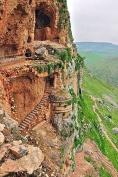 The Cave Fortress (Mount Arbel, Israel)