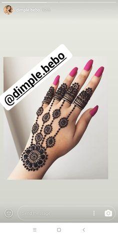 Simple Arabic Designs, Mahendi Designs Simple, Mehandi Designs Arabic, Peacock Mehndi Designs, Henna Art Designs, Mehndi Designs For Fingers, Beautiful Henna Designs, Beautiful Mehndi, Latest Mehndi Designs