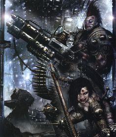 Warriors - Necromunda - Warhammer 40K - GW