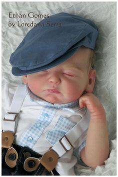 Ethan Baby Boy Reborn Doll Joanna Gomes - The Little Prince s House