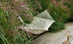 a garden without hammock? Modern Planting, Clearwater Revival, Old Wall, Sense Of Place, Garden Features, Fruit Trees, Outdoor Furniture, Outdoor Decor, Amazing Gardens