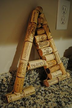 """so want to do this with the letter """"H"""" and hang it in my kitchen.  Beso de Vino"""