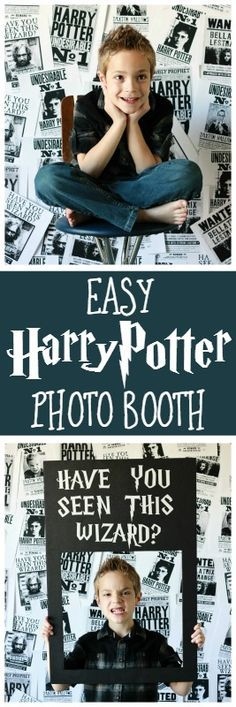 Harry Potter Photo Booth