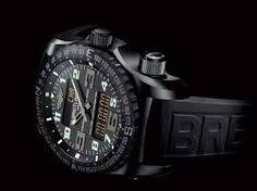 Watch #11. Breitling Professional Emergency Black $18000