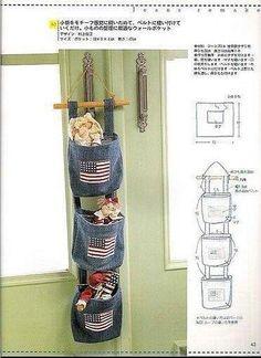 Idea de reciclado de vaqueros,   y aplicaciones de banderas