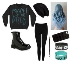 """Used to be crappy bc hardly any P!ATD stuff but i found another bracelet yay"" by gerardsemopancake ❤ liked on Polyvore featuring M&Co, Mossimo Supply Co., Halogen, The Case Factory and Rimmel"