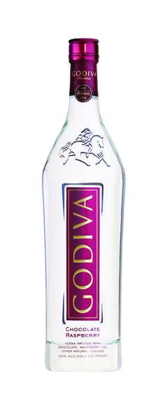 Godiva Chocolate Raspberry infused Vodka
