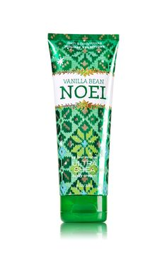 Vanilla Bean Noel 24 Hour Moisture Ultra Shea Body Cream - Signature Collection - Bath & Body Works: For my daughter, and myself. Love this stuff! Bath N Body Works, Bath And Body, Cream Baths, Best Lotion, Ultra Shea Body Cream, Whipped Body Butter, Perfume, Cocoa Butter, Shea Butter
