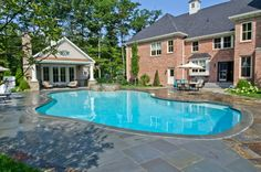 This color liner . . .Master Pools Guild | Residential Pools and Spas - Freeform Gallery