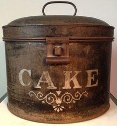 c.1880s cake box