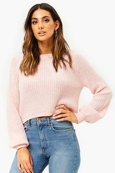 Forever 21 is the authority on fashion & the go-to retailer for the latest trends, styles & the hottest deals. Shop dresses, tops, tees, leggings & more! Shop Forever, Forever 21, Chunky Cable Knit Sweater, Back To School Shopping, Pull, Latest Trends, Feminine, Fashion Outfits, Best Deals