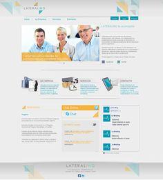 """Website firma """"LTA"""" www.ltaconsultora.com.ar"""