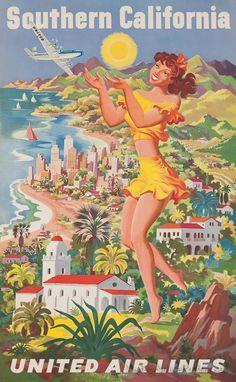 Vintage SoCal poster.