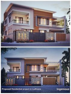 Most Design Ideas Modern Bungalow House Designs Pictures, And Inspiration – Modern House Modern Bungalow Exterior, Modern Exterior House Designs, Modern Bungalow House, Modern House Facades, Dream House Exterior, Modern Architecture House, Modern House Plans, Best Modern House Design, Bungalow Haus Design