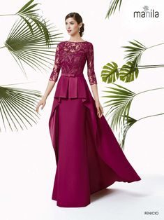Mother of the Bride Wedding Dress Necklines, Bridal Dresses, Dress Brokat, Elegant Dresses, Formal Dresses, High Fashion Dresses, Long Evening Gowns, Classy Dress, The Dress