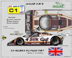 Jaguar XJR-8 Poster