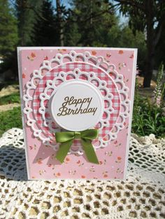 Happy Birthday Card by LeCardShoppe on Etsy,