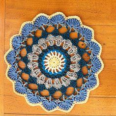 Taquila Sunrise Mandala ~ free pattern.