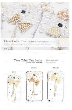 Clear Cubic case. Clear navi chain. 100% handmade.