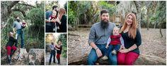 Woodsy family portraits