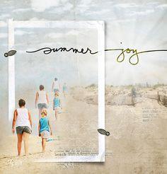 Summer Joy - Digital Scrapbooking Ideas - DesignerDigitals