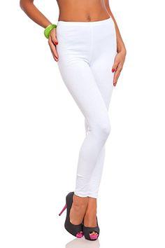 79b75154de9a79 futuro fashion voller Länge Baumwolle Leggins alle Farben alle Größen  aktiv-hose Sport Hosen: