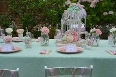 Vintage Tea Birthday Party Ideas | Photo 2 of 20 | Catch My Party