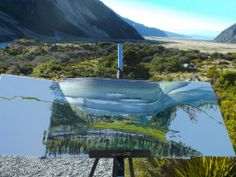 New Zealand Artist New Zealand, Mountains, Landscape, Artist, Nature, Travel, Naturaleza, Viajes, Scenery