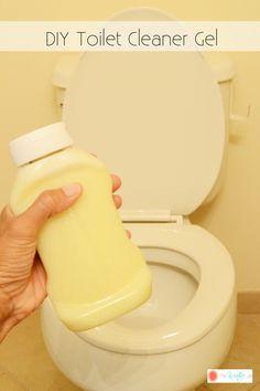 DIY Toilet Cleaner Gel - The Kreative Life