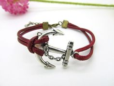 Silver Anchor Bracelet  fashion mens bracelet made by Richardwu, $3.99