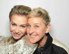 Portia De Rossi, Old Comedians, Ellen Degeneres And Portia, Lgbt Couples, Celebrity Houses, Famous Celebrities, Dancing With The Stars, In Hollywood, Jennifer Lopez