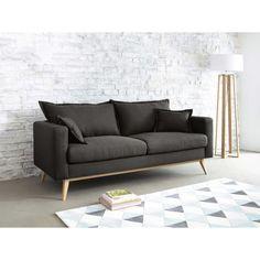 DUKE - Canapé 3 places en tissu brun grisé - Maison du monde 599.90 CHF