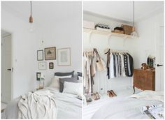 bedroom before and after pastel colors 4