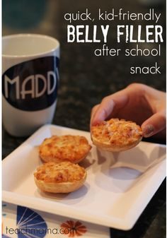 quick, kid-friendly after school snack: Bagel Bites   #ad #BH #backtoschool
