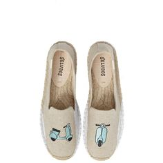 Women's Soludos Scooter Espadrille Loafer (4.360 RUB) ❤ liked on Polyvore featuring shoes, loafers, sand canvas, sand shoes, platform espadrilles shoes, platform loafers, espadrille shoes and loafer shoes