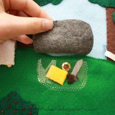 Little Miss Stitcher: LDS Quiet Book: Hill Cumorah