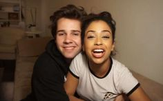 Youtuber David Dobrik and girlfriend Liza Koshy are in relationship. See their affair