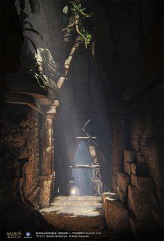 My ArtWork from - Assassin's Creed 4 Black Flag by Tihomir Nyagolov, via Behance