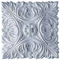Ekena Millwork Acanthus Leaf with Beads x Square Primed Rosette at Lowe's. Our rosettes are the perfect accent pieces to cabinetry, furniture, fireplace mantels, ceilings, and more. Each pattern is carefully crafted after Raku Pottery, Pottery Sculpture, Art Nouveau, Plinth Blocks, Finishing Nails, Panel Moulding, Ceiling Medallions, Acanthus, Fireplace Mantels