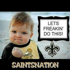 Saints going to kill the today. Who Dat? Saints Game, Nfl Saints, Down In New Orleans, I'm A Believer, New Orleans Saints Football, Who Dat, Nfl Logo, New Orleans Louisiana, Football Fans
